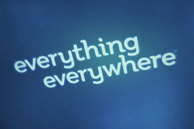 Everything Everywhere: formed by the merger of Orange and T-Mobile last year