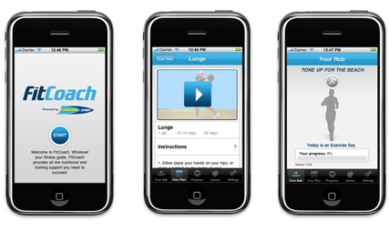 Lucozade Sport: offering personalised training app