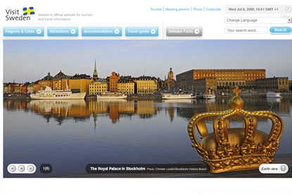 Visit Sweden... new agency