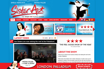 Sister Act…a Stage Entertainment production