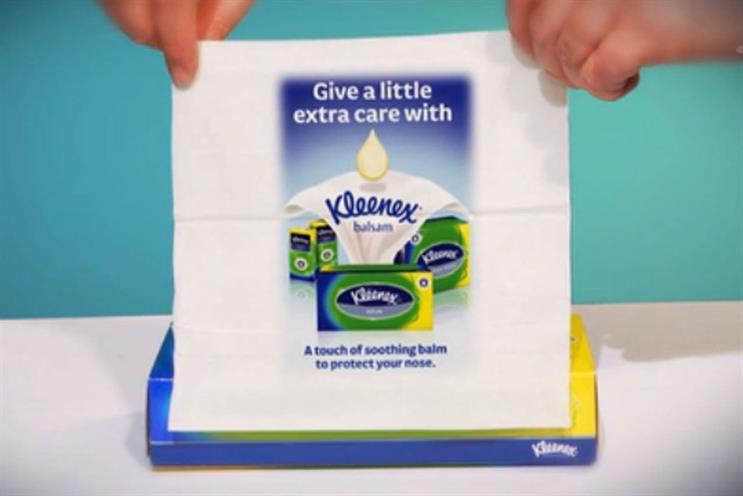 Kleenex campaign: earned Mindshare UK London a Gold Lion