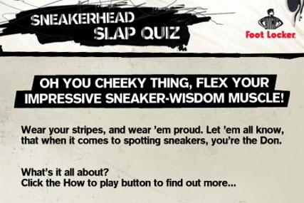 Foot Locker: Sneakerhead game