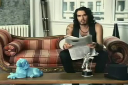 Russell Brand ...stars in new ad to promote MTV VMA awards