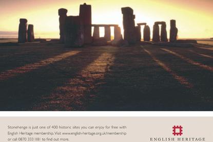 Stonehenge... English Heritage site