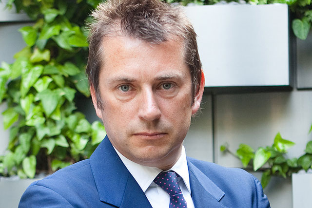 Nick Bampton: hosted Channel 5 event