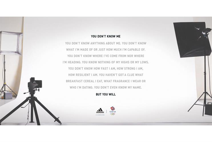Adidas…winning long-copy ad from iris