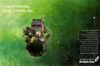 British Gas ad campaign attacks EDF Energy's 'Green Britain Day'
