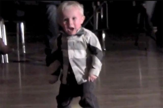 William Stokkebroe: dancing toddler knocks Kony video from top