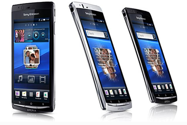 Sony Ericsson: launched its Xperia Arc smartphone this week