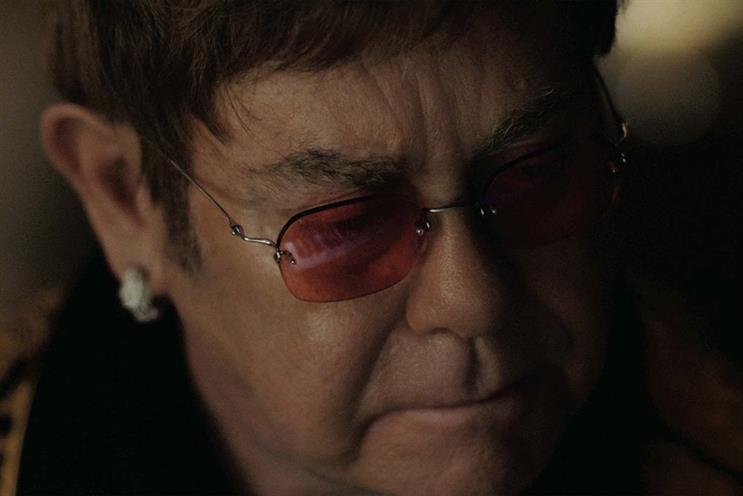 Elton John: paid far less than £5m, according to John Lewis