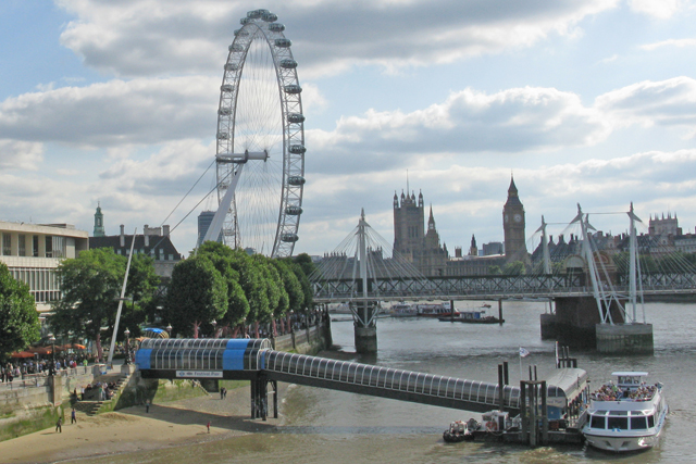 The London Eye: signs deal with EDF (picture credit: Ian Bottle)