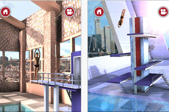 Tom Daley Dive: game features the Olympic diver in 3D environment