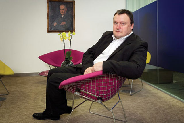 Andrew Miller: chief executive, Guardian Media Group