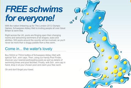 Schwim Free: Coca-Cola extends activity