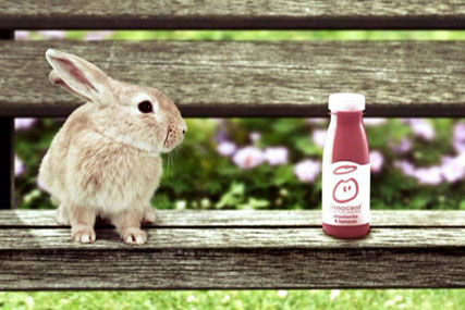 Innocent: calls smoothies pitch