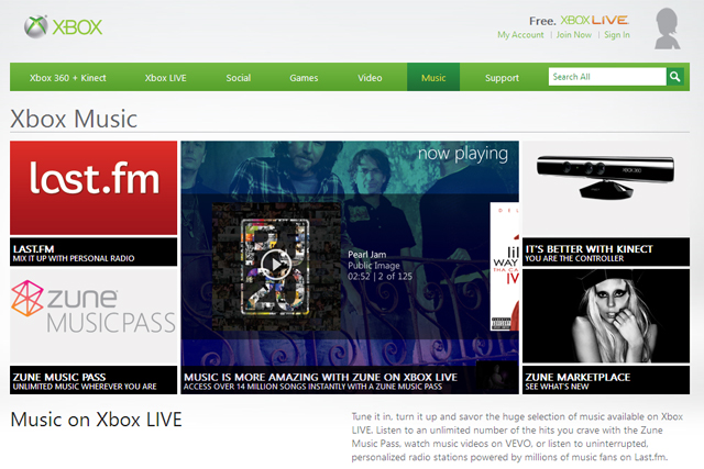 Xbox Music: launching to rival iTunes and Spotify