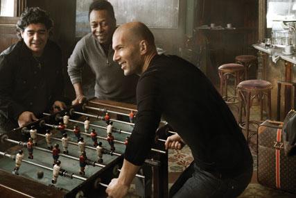 Louis Vuitton: footballing legends front latest ad campaign
