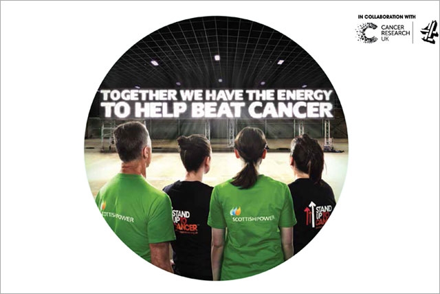 Scottish Power: backs Stand Up to Cancer