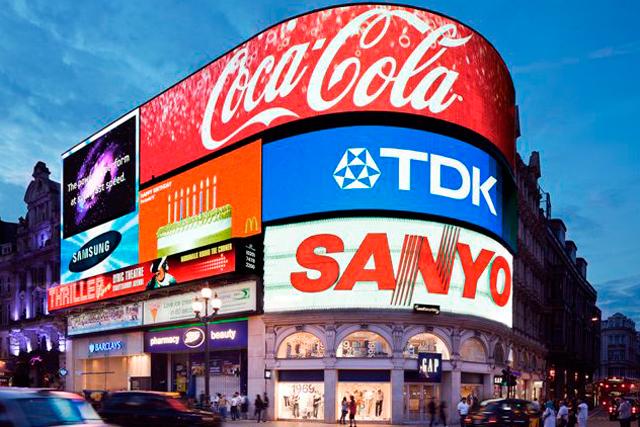 Piccadilly Circus: Sanyo exit makes way for Hyundai
