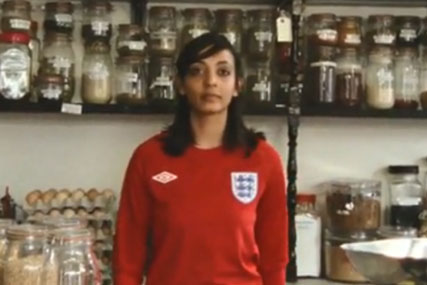 Umbro takes over Facebook with national anthem video