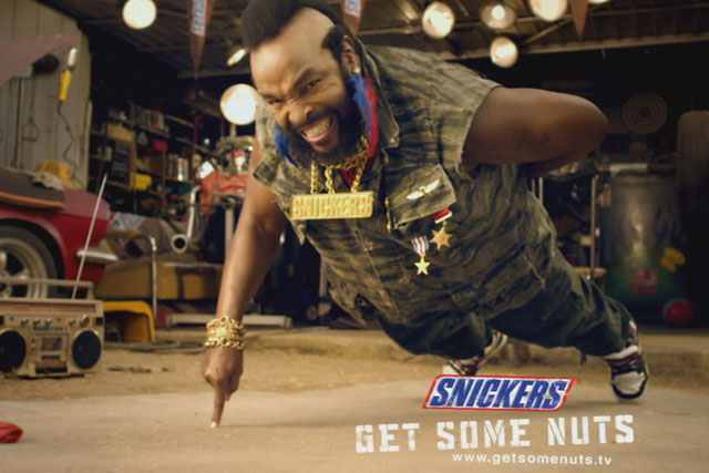 Snickers: owner Mars moves global advertising into BBDO