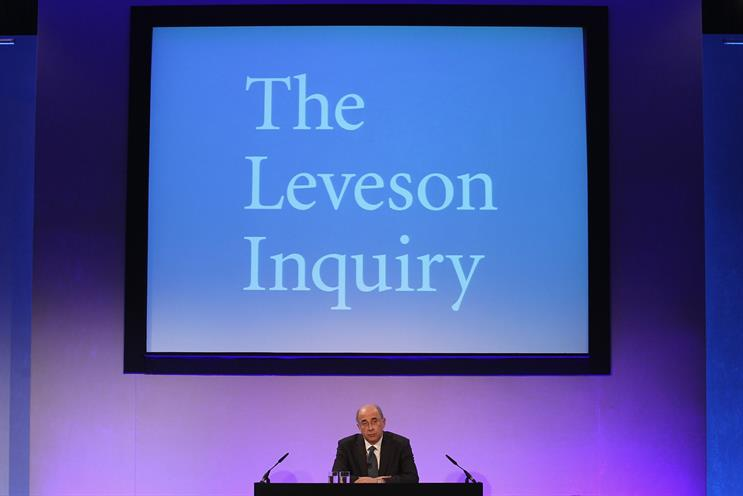 Leveson: Cameron is under pressure to implement his recommendations. Credit: Getty Images
