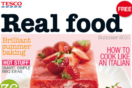 Tesco Boosts Circulation With Real Food Launch