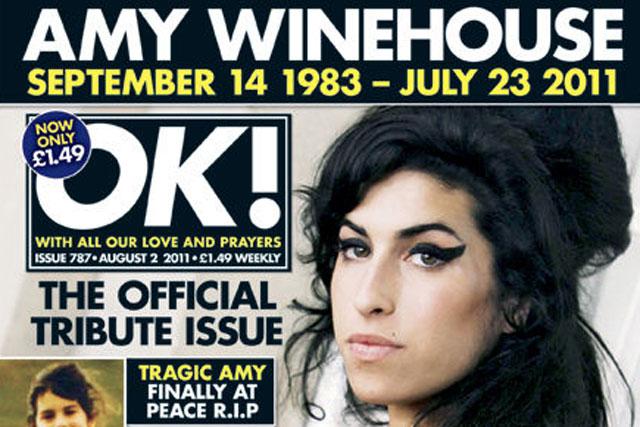 OK!: publishes Amy Winehouse tribute edition