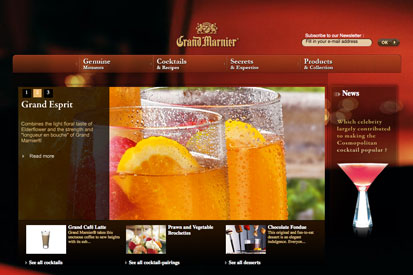 Diageo is backing Grand Marnier