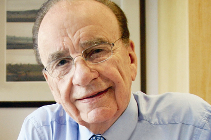 Rupert Murdoch: 'fortune favours the brave'