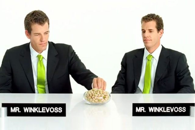 The Wonderful Pistachios: the Winklevoss twins star in US ad