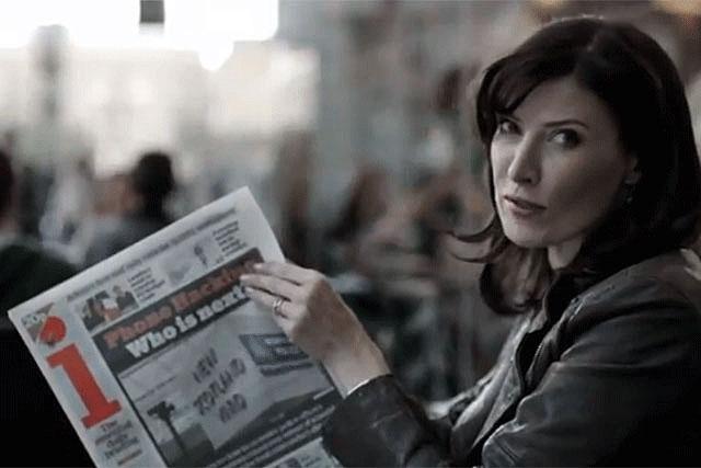 The i: comedian Ronni Ancona stars in the newspaper's latest TV campaign