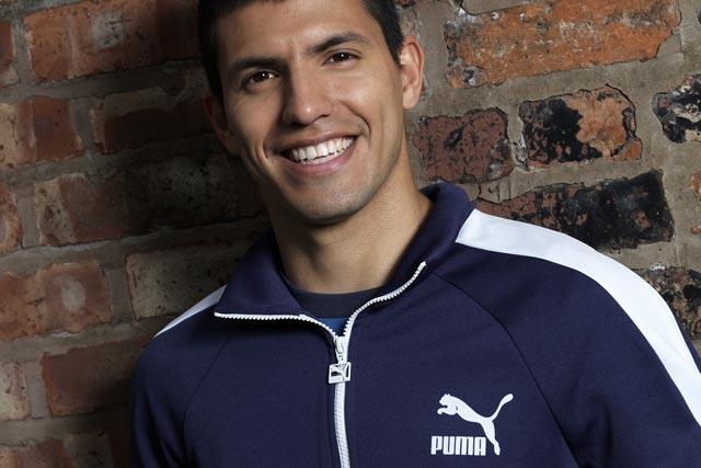 sleek good lower price with Puma signs footballer Sergio Agüero in long-term deal
