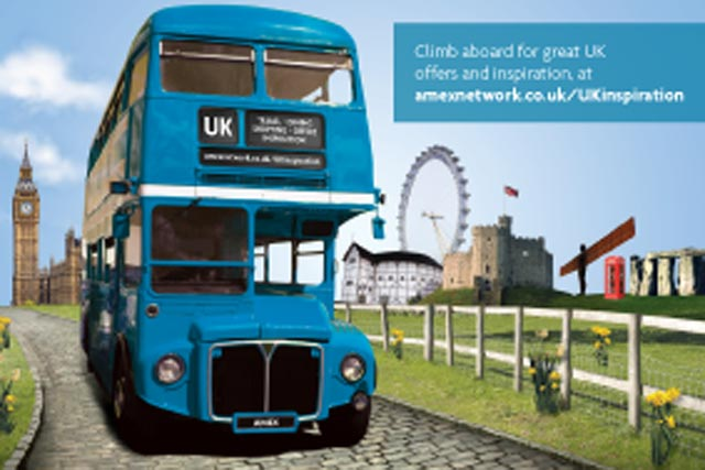 VisitBritain: teams up with American Express for online marketing campaign