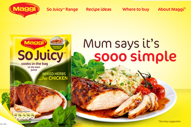 IAB building brands trilogy: Nestlé's Maggi So Juicy