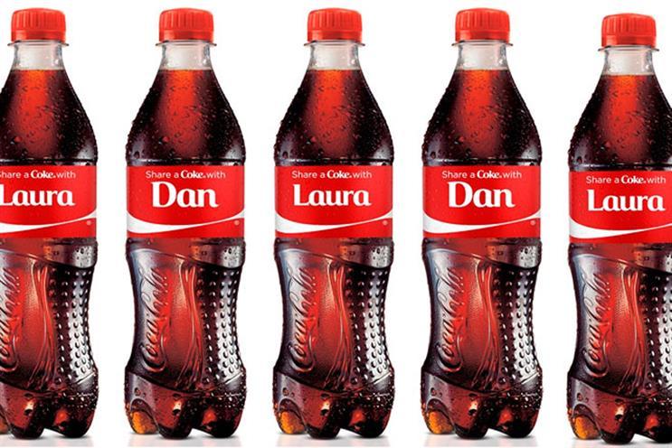 Coca-Cola: unveils its summer Share A Coke campaign