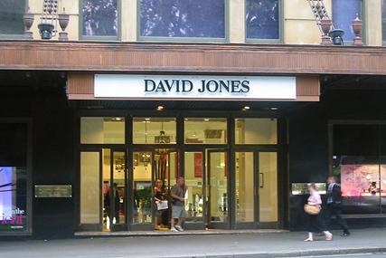 David Jones: flagship store in Sydney