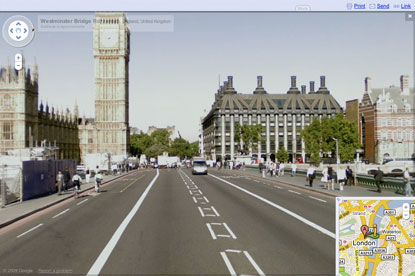 Street View... protest