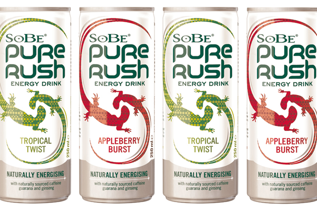SoBe Pure Rush: Britvic's US brand comes to the UK