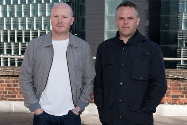 Lee and Heyes: back at DDB