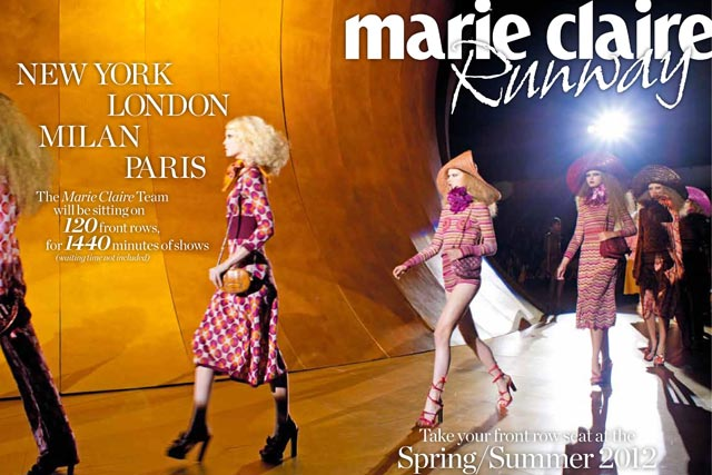 Marie Claire Runway: set to launch in January