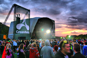 Creamfields was cancelled after heavy flooding