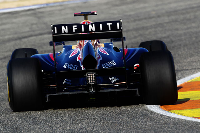 Infiniti: two-year deal with Red Bull Racing
