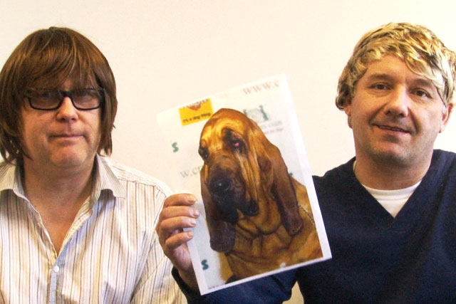 Vic and Bob: front Foster's Funny show