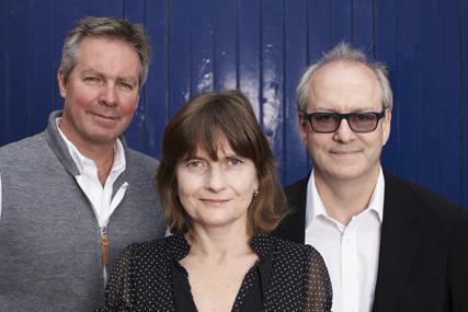 Sean Kinmont, Jane Asscher, Hamish Pringle