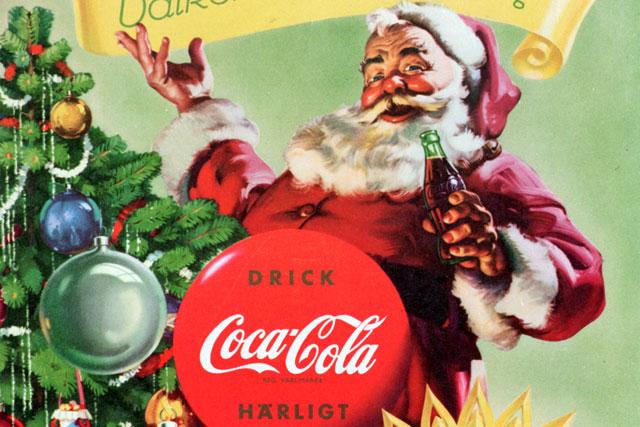 Coke Christmas Ads.Coca Cola Christmas The 50s
