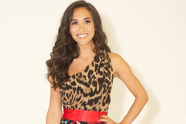 Myleene Klass: first outing as brand ambassador for Littlewoods