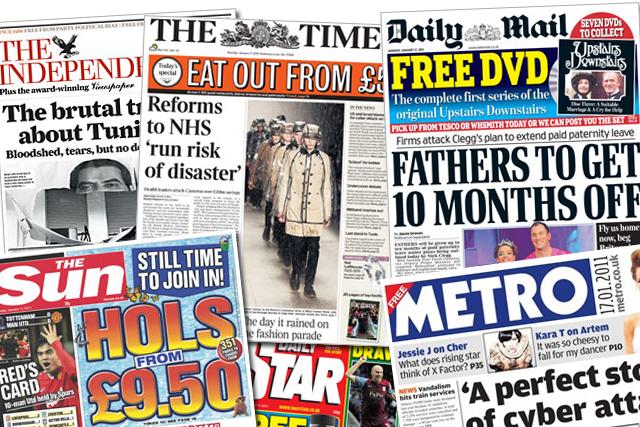 NRS data: readership figures for most titles make grim reading
