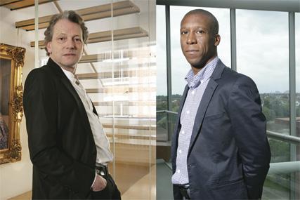 Tim Willis and Ian Maynard