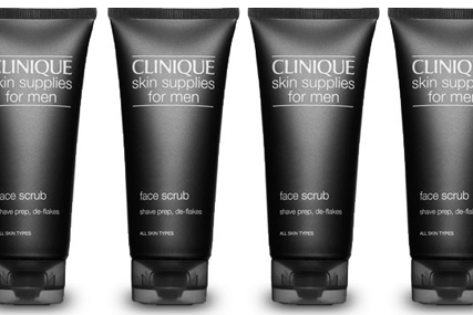 Clinique: pushes Skin Supplies for Men division